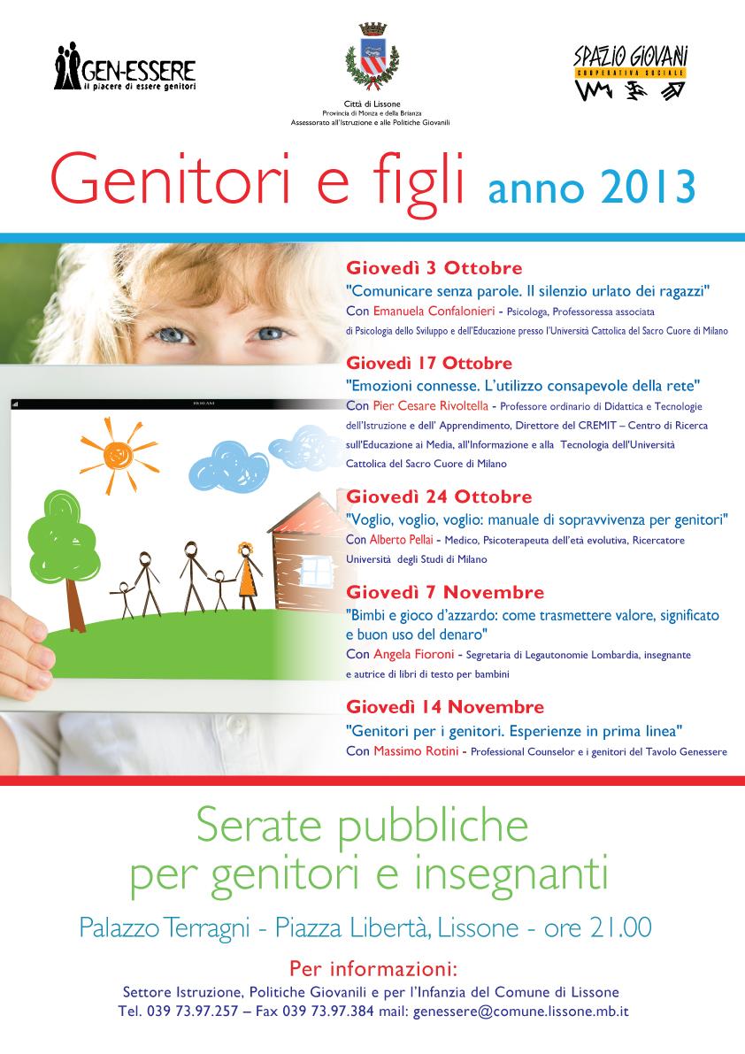 incontri Genitori e Figli 2013 a Lissone