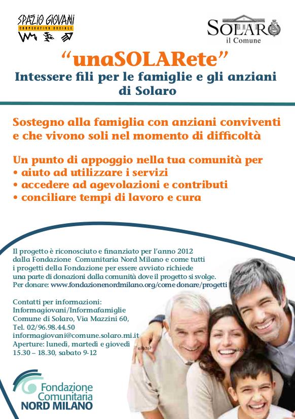UnaSolaRete al 7° compleanno della Fondazione Nord Milano