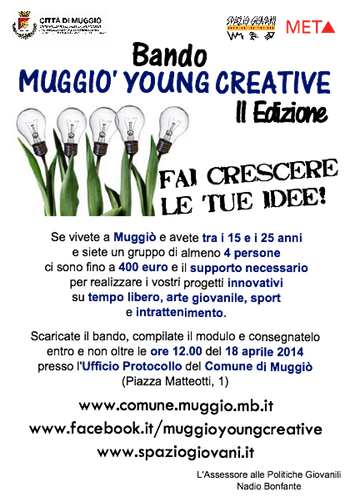 Young Creative 2014 a Muggiò