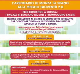 Peer Education all'Arengario di Monza!