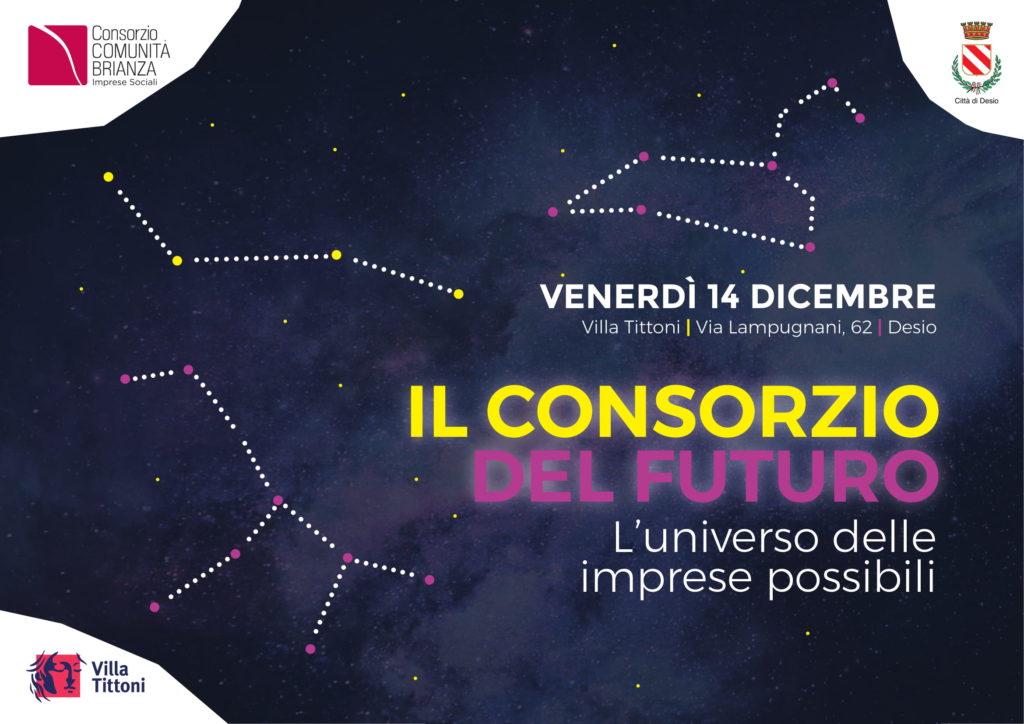 Il Consorzio del Futuro: il 14 dicembre l'evento dedicato al mondo del sociale