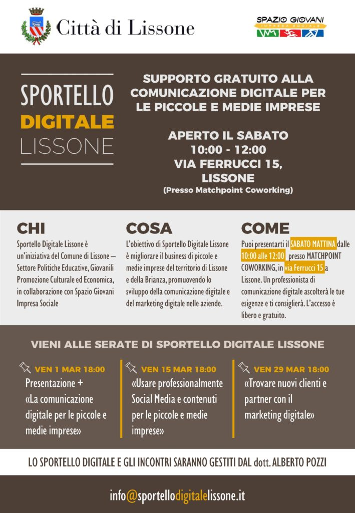 Sportello Digitale Lissone