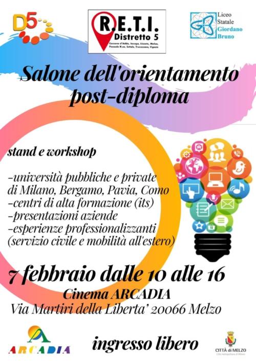 Salone dell'Orientamento post-diploma 2020