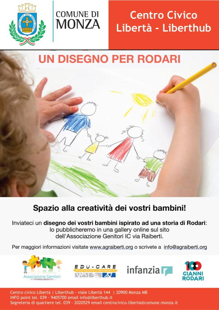 Giornata Mondiale dell'Infanzia - Un disegno per Rodari