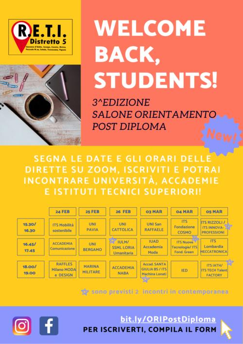 Salone dell'Orientamento Post Diploma